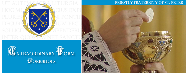 FSSP Priest Training Workshops
